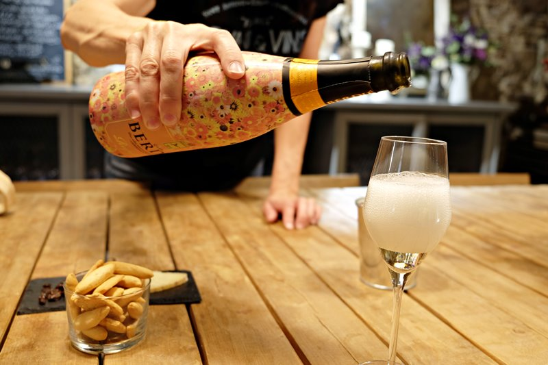 Cava tasting with Barcelona Eat Local Food Tours