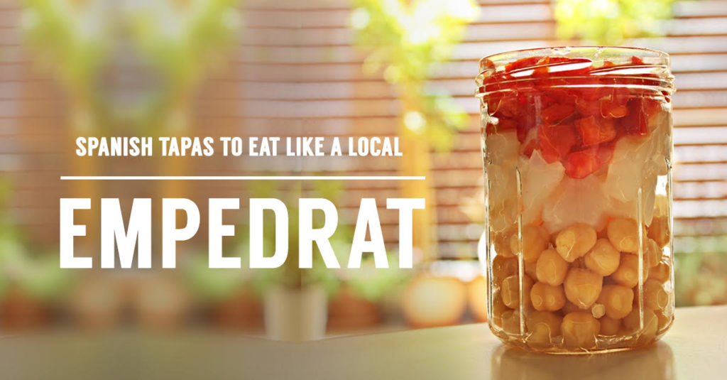 Empedrat tapas recipe by Barcelona Eat Local Food Tours