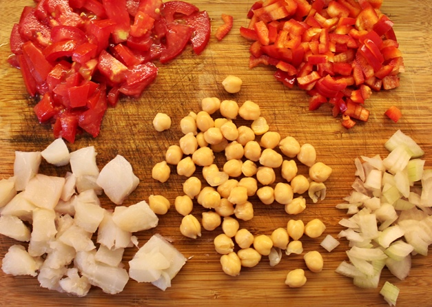 Empedrat ingredients by Barcelona Eat Local Food Tours