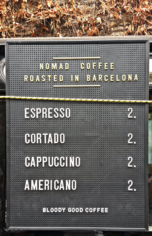 Nomad Coffee Roasters by Barcelona Eat Local Food Tours