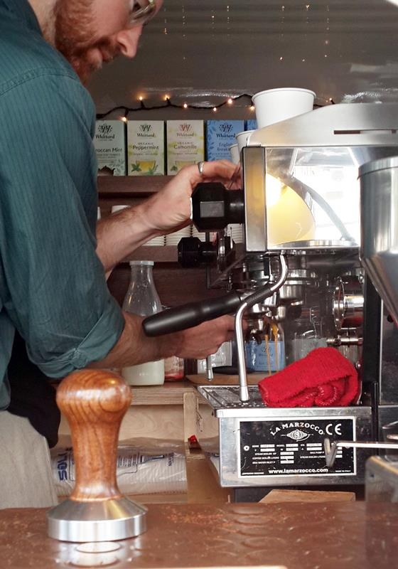 Skye Coffee Barista by Barcelona Eat Local Food Tours