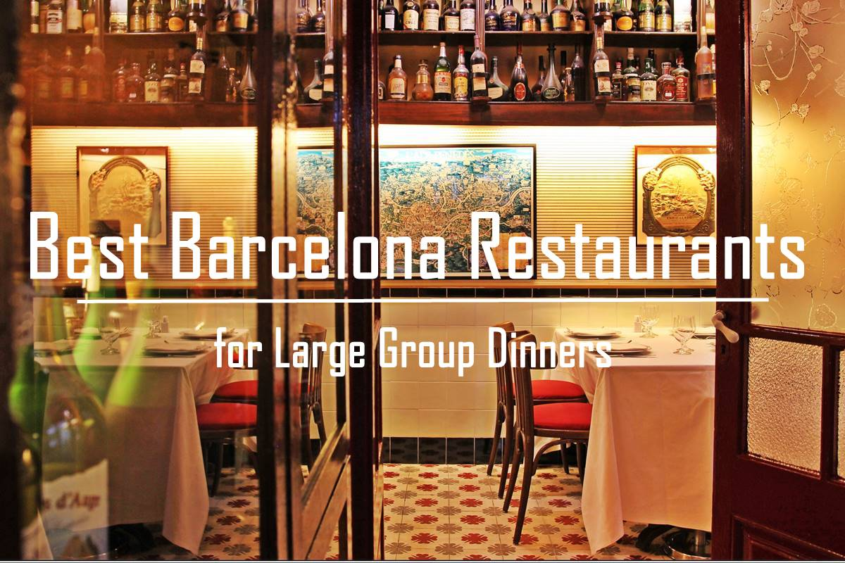 Best restaurants for group dinners in barcelona for Restaurants for big groups