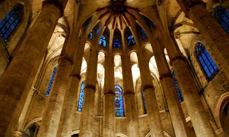 Inside Santa Maria del Mar
