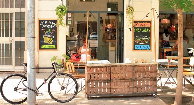 cafe cometa at Sant Antoni district