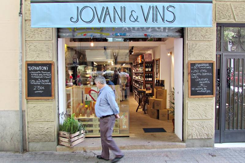 Wine shop in Barcelona