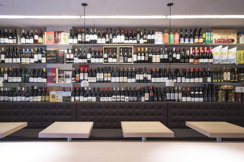 Wine bar in Barcelona