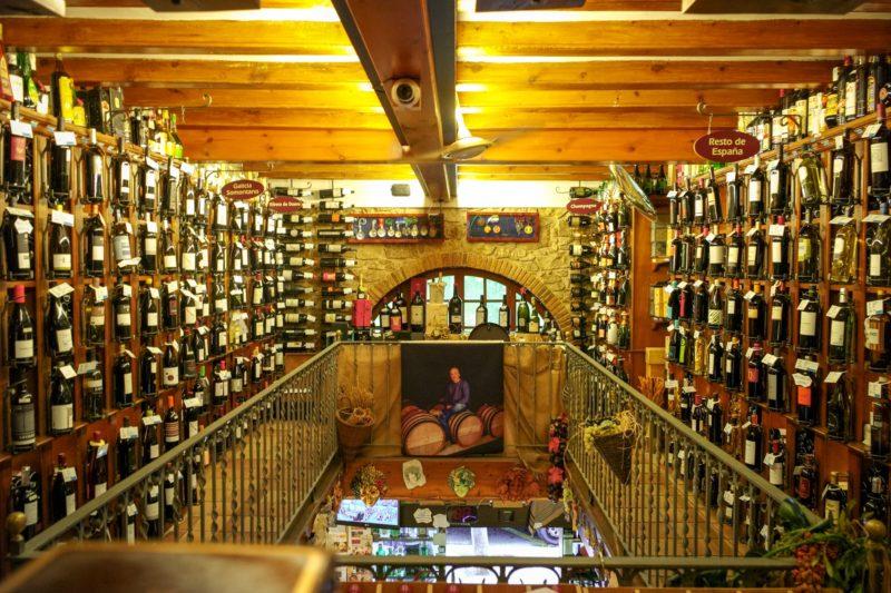 Barcelona wine shop celler de gelida