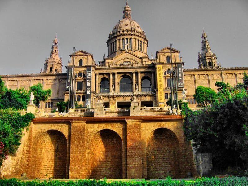 National Museum Contemporary art Barcelona