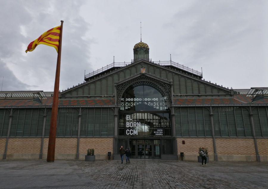 Cultural Center at El Born District in Barcelona